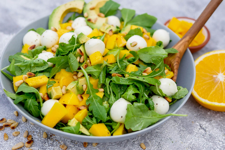 Mango Rucola Salat