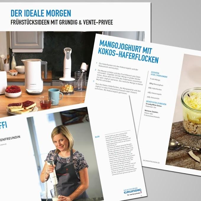 Blogger-Frühstück und die GRUNDIG White-Sense-Serie