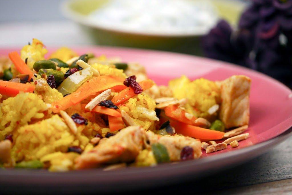 Persischer Reis mit Be...