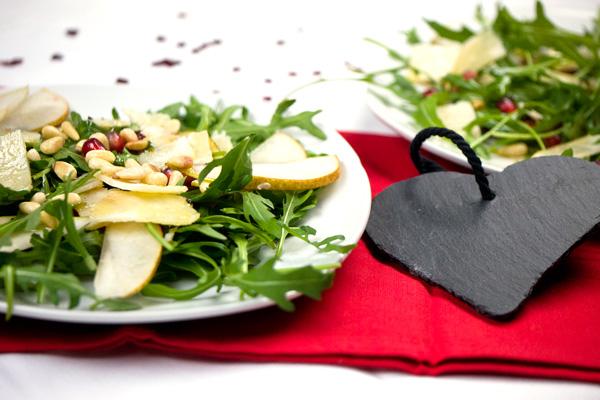 Salat zum valentinstag