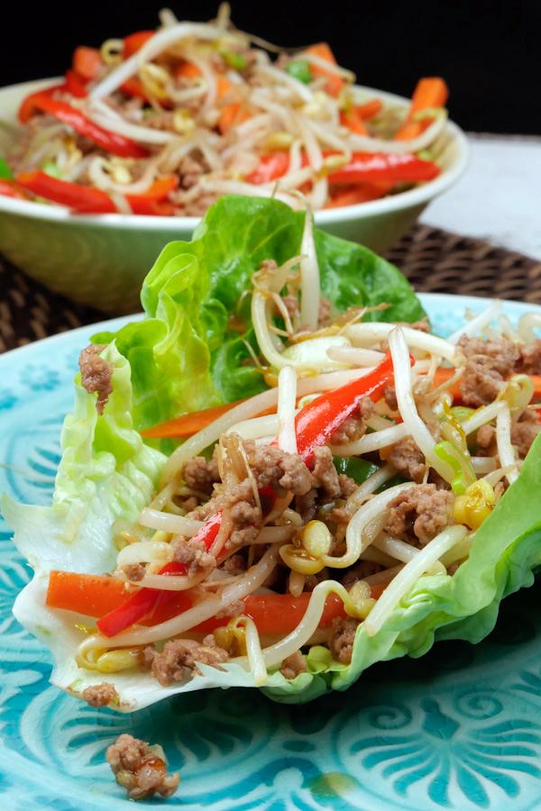 Rezept für China-Fingerfood Low Carb