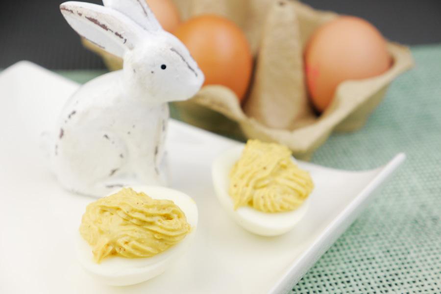Rezept für russische Eier für den Osterbrunch