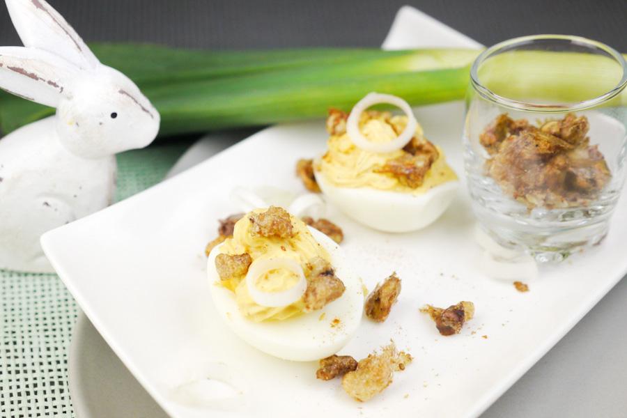 Rezept für Gefüllte Eier für den Osterbrunch