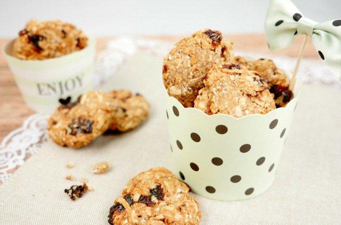 Gesunde Haferflocken-Kekse mit zwei Zutaten