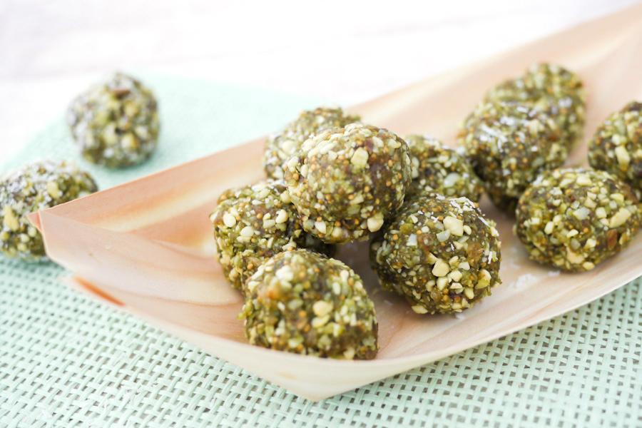 oft Matcha Energyballs - Gesunde Snacks für Zwischendurch FG47