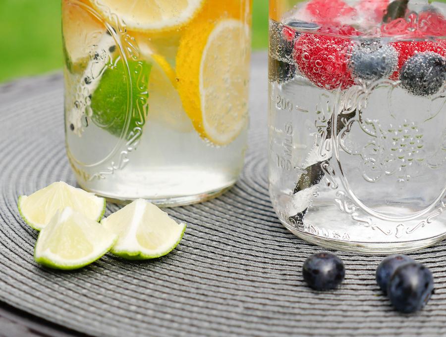 Mineralwasser mit Geschmack
