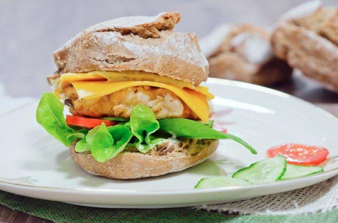 Klassischer Chickenburger – einfach selbstgemacht