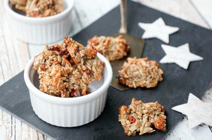 Low Carb Kekse mit Superfoods