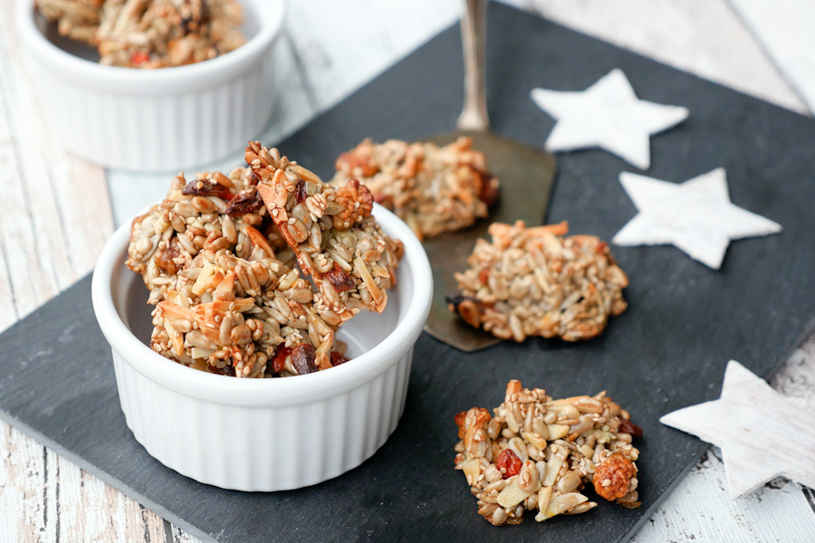 Rezept für gesunde Low Carb Superfood-Kekse