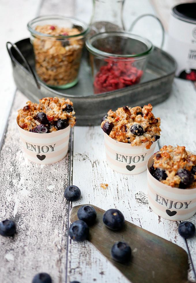 Gesunde Superfood-Muffins für den perfekten Start in den Tag