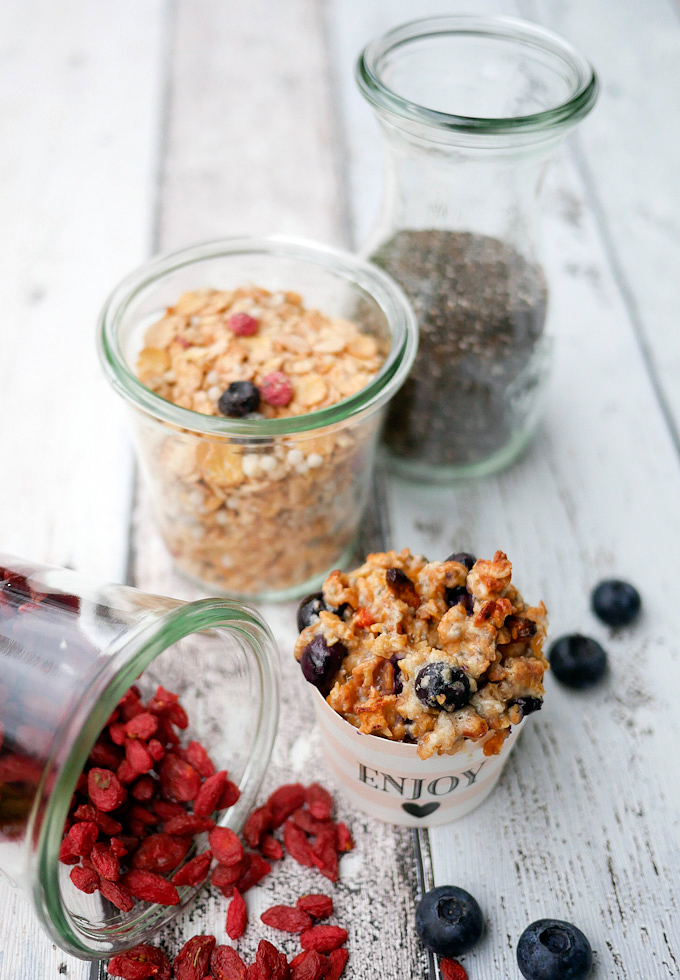 Heidelbeer-Muffins - Low Carb und richtig lecker