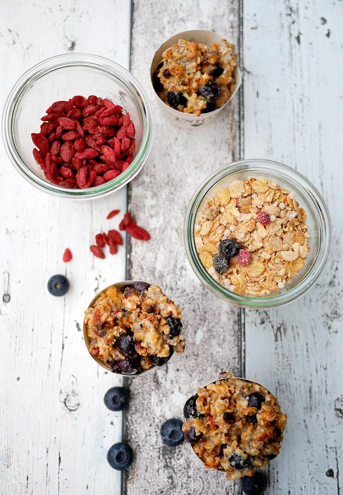 Rezept für einfache Low Carb Frühstücksmuffins