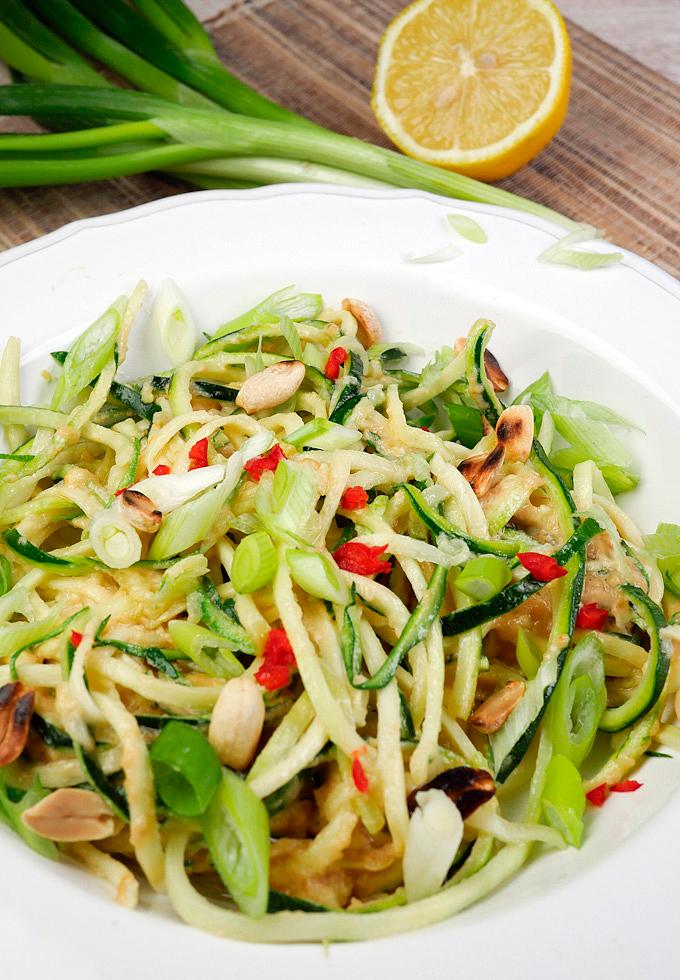 Rezept für asiatische Low Carb Zoodles