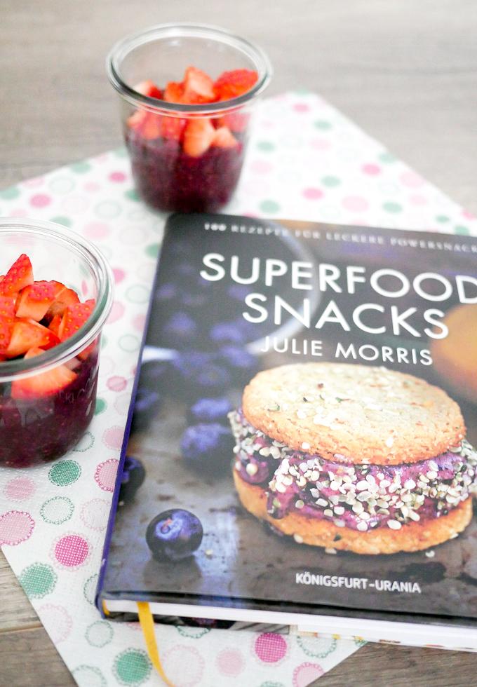 Superfood Snacks von Julie Morris