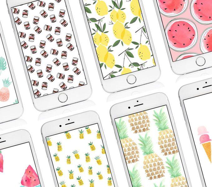 Meine liebsten Iphone Wallpaper rund ums Essen