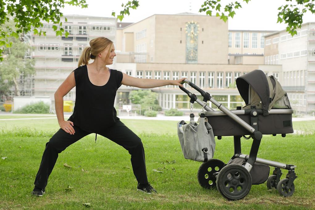 Gesund abnehmen nach der Geburt - Buggy-Fitness
