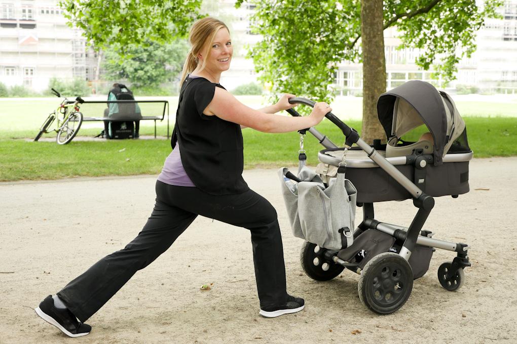 Fitness mit Kinderwagen - Fit dank Baby