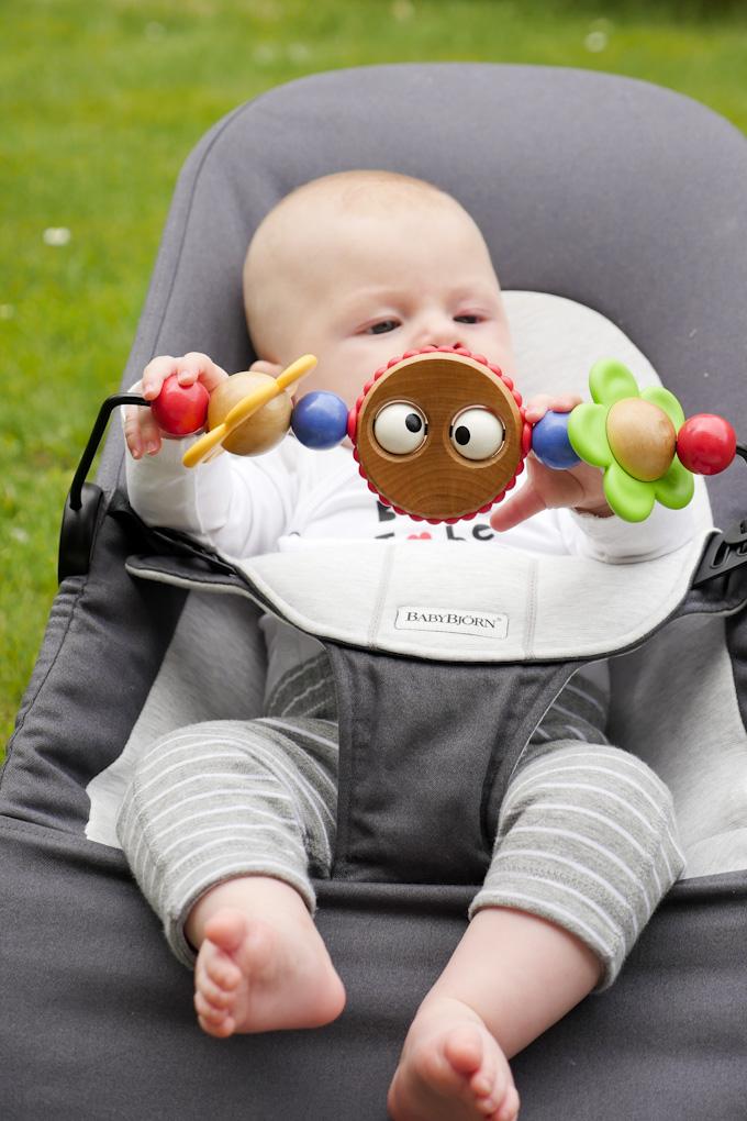 ergonomische Wippe für Babys - Babybjörn Balance Soft Wippe