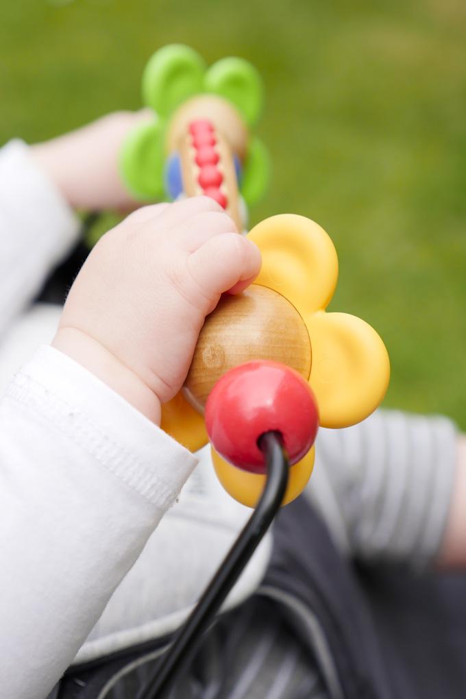 Fröhliche Augen Spielzeug für Babybjörn Wippe