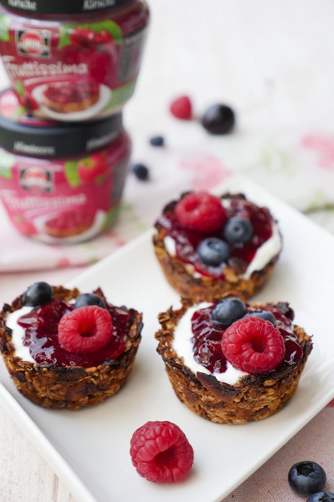 Frühstücksmuffins mit Fruttissima von Schwartau