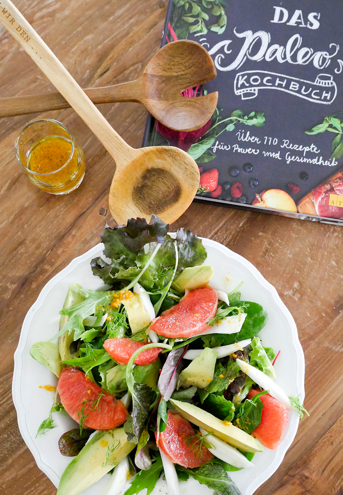 Paleo-Salat aus dem Paleo-Kochbuch