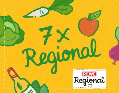 REWE Regional - 7 x Regional Aktionswoche 2016