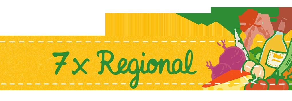 7 x Regional Aktionswoche