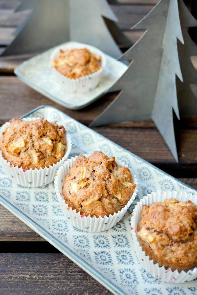 Apfel-Zimt Muffins Backmischung - Geschenke aus der Küche