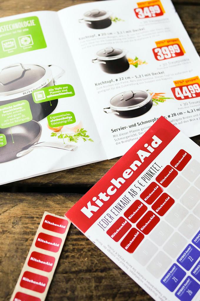 Töpfe und Pfannen von KitchenAid mit REWE Treuepunkten