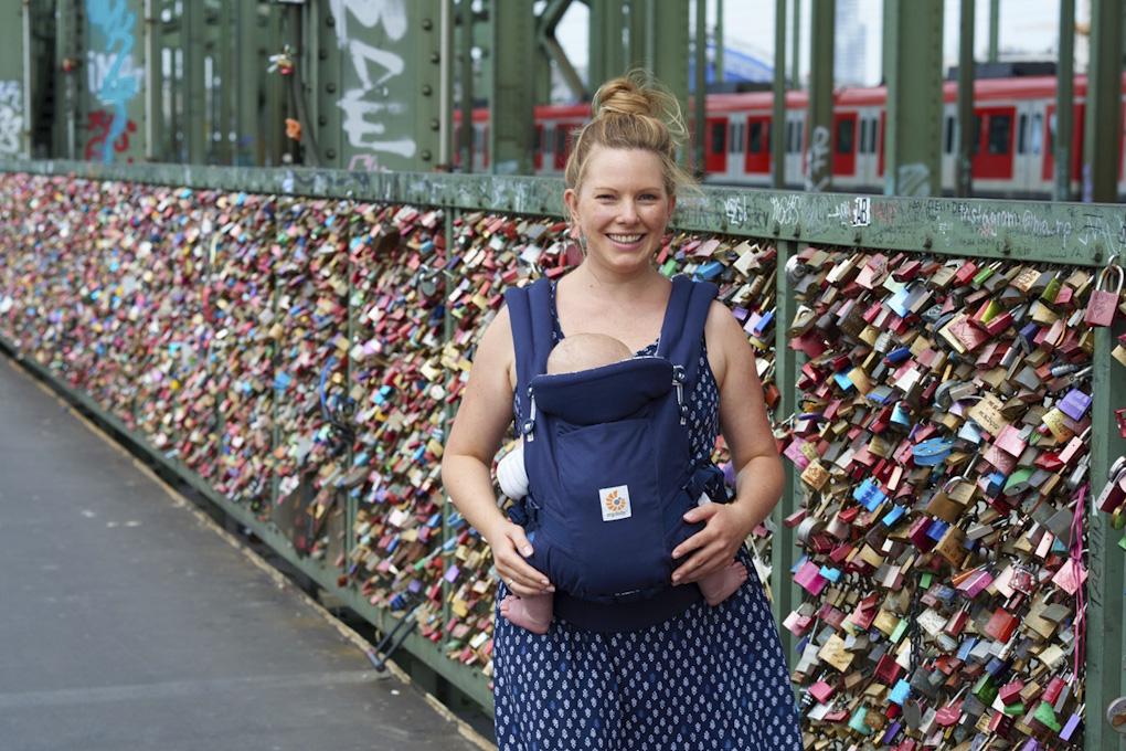 Familienfreundlicher Reiseführer für Köln von Ergobaby