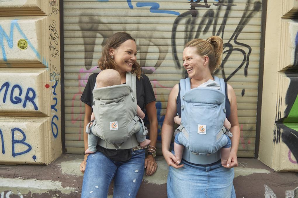 Fotoshooting für den Ergobaby Familien-Reiseführer in Köln