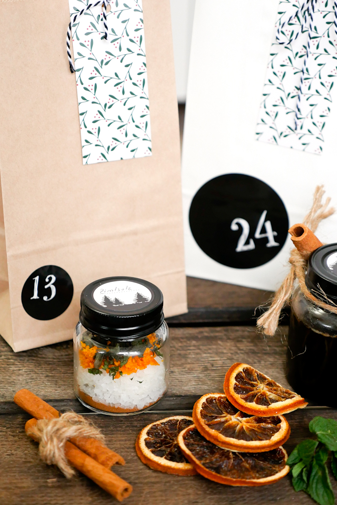 Selbstgemachte Geschenke aus der Küche mit Zimt