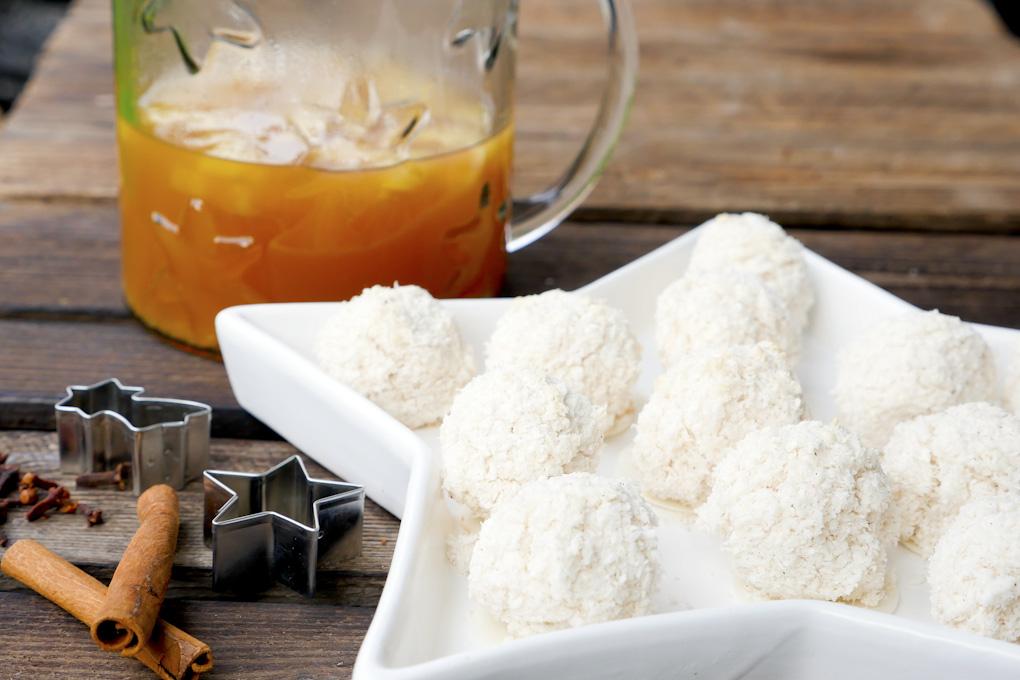 Rezept für Kokoseisberge - Weihnachtsplätzchen
