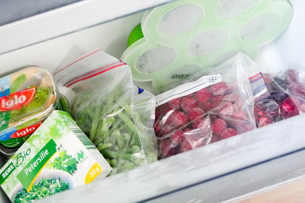 Ein Blick in meinen Kühlschrank - Gefrierfach No Frost