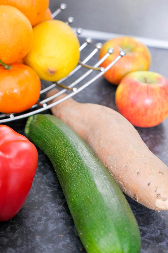 Zutaten die nicht im Kühlschrank gelagert werden müssen