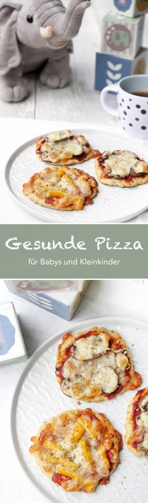 gesunde und schnelle pizza f r babys und kleinkinder mit quark. Black Bedroom Furniture Sets. Home Design Ideas