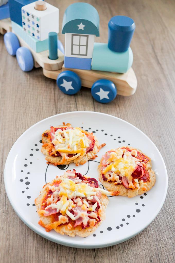 Einfaches Rezept für Gesunde Pizza für Babys