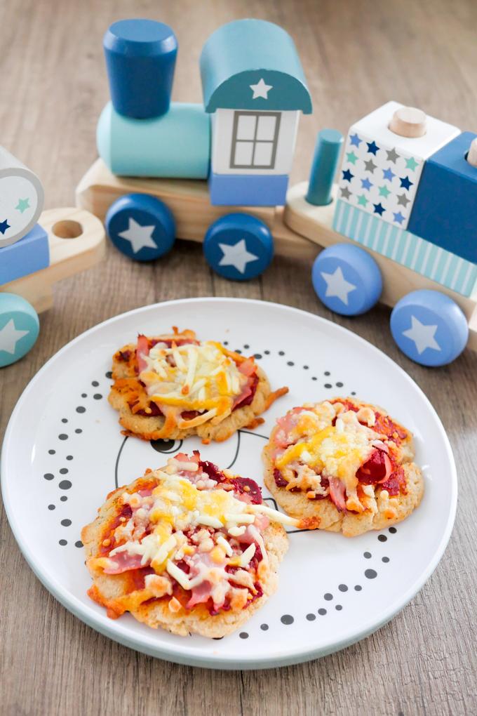 Pizza für Babys und Kleinkinder - BLW Rezept
