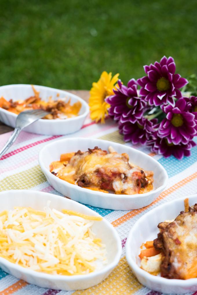 Arla Ofenkäse Finello® zum Überbacken der Low Carb Aufläufe