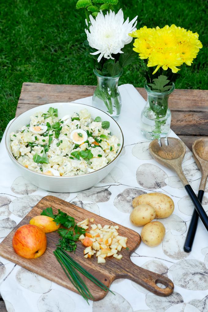 Rezept für Kölschen Kartoffelsalat - Äädäppelschlot
