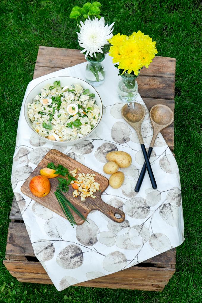 Rezept für Kölschen Kartoffelsalat mit Äpfeln