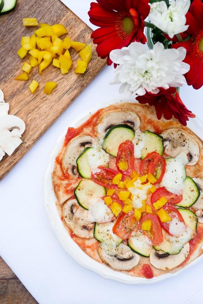 15-Minuten Blitzpizza Rezept ohne Pizzateig