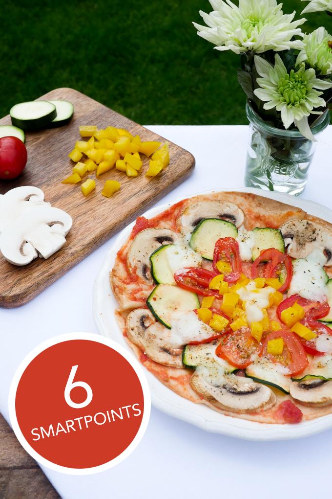 Weight Watchers Blitzpizza für 6 Smartpoints