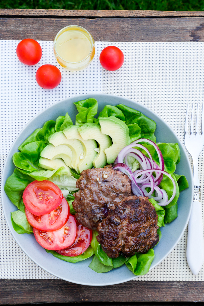 Foodtrend Low Carb Burger Bowl