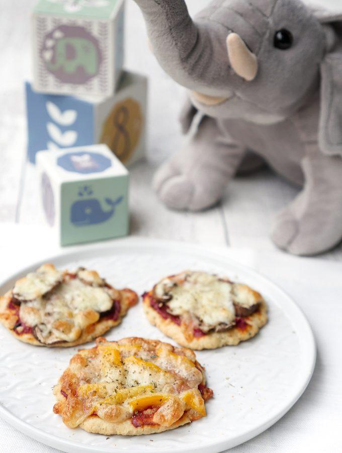 Gesunde Pizza für Babys und Kleinkinder