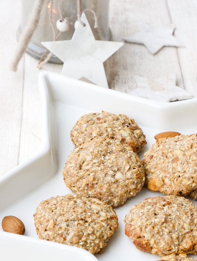Gesunde Kekse mit Mandeln