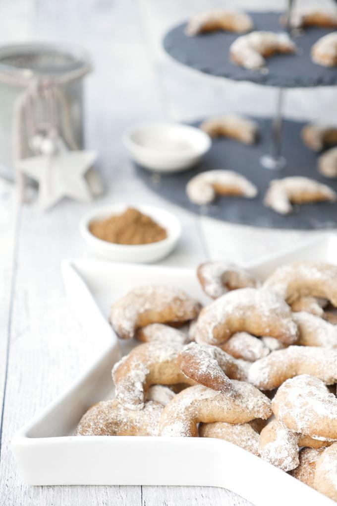 In der Weihnachtsbäckerei - Würzige Spekulatiuskipferl