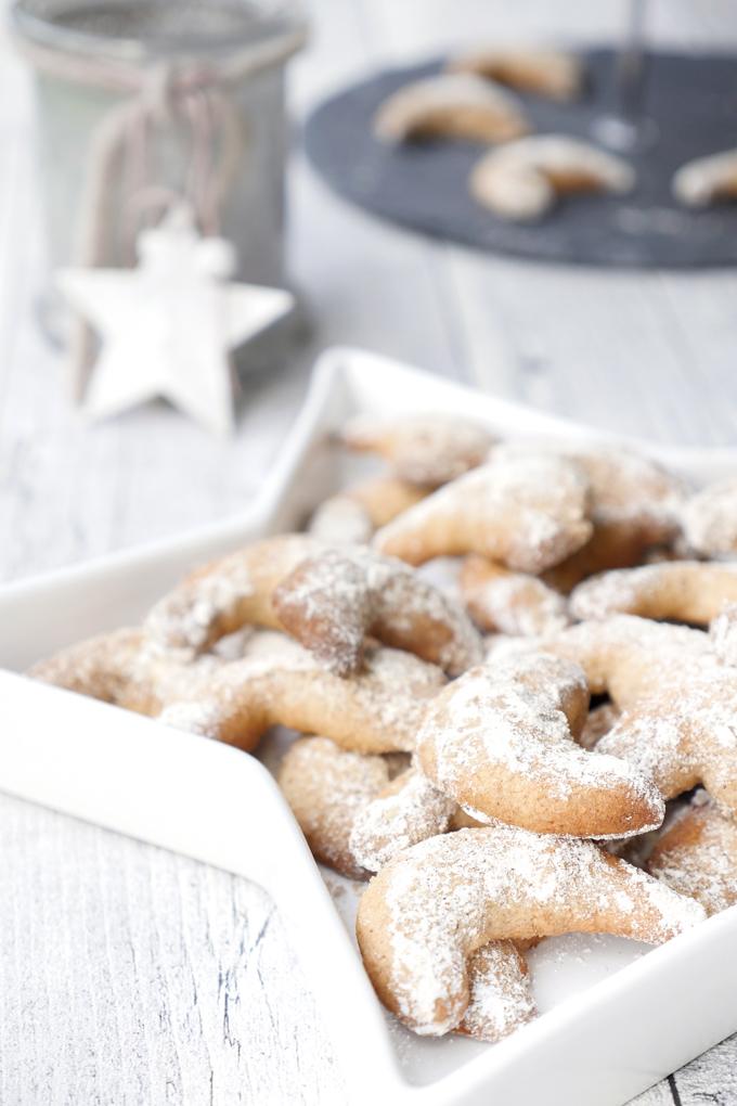 Wunderbar würzige Weihnachtsplätzchen - Würzige Spekulatiuskipferl