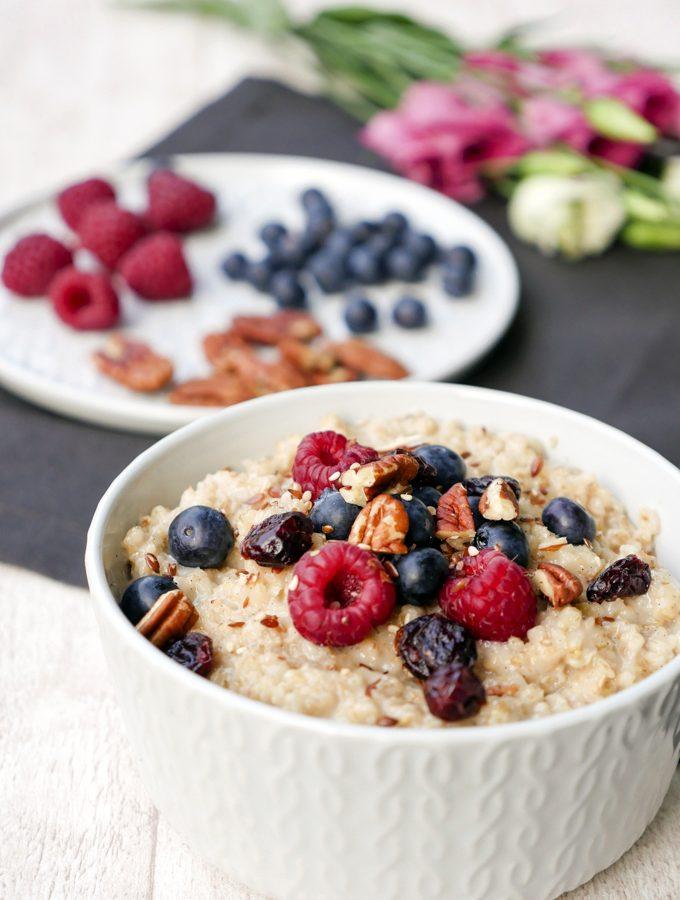 Vanille-Porridge – schnelles Familienfrühstück