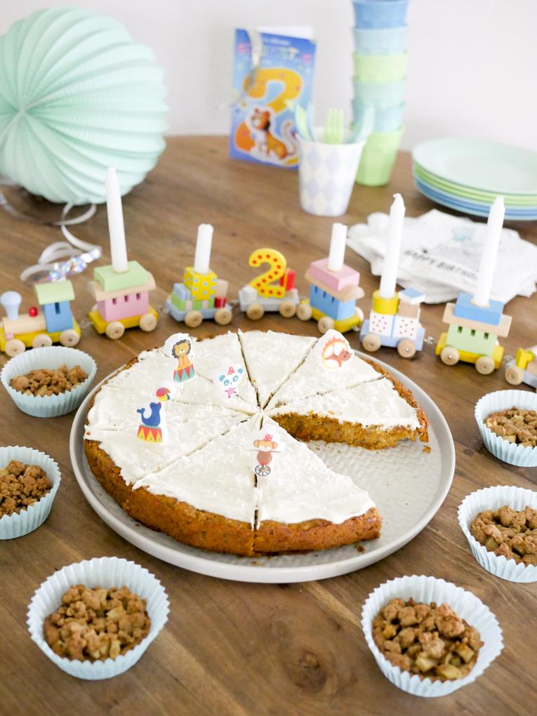 Gesunder Geburtstagskuchen Fur Kinder Mohrenkuchen Ohne Zucker